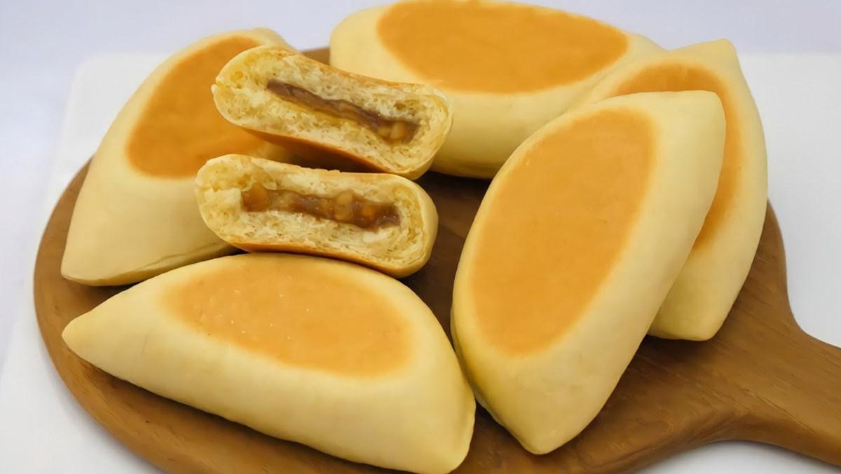 Bánh mì nhân mật ong bằng chảo