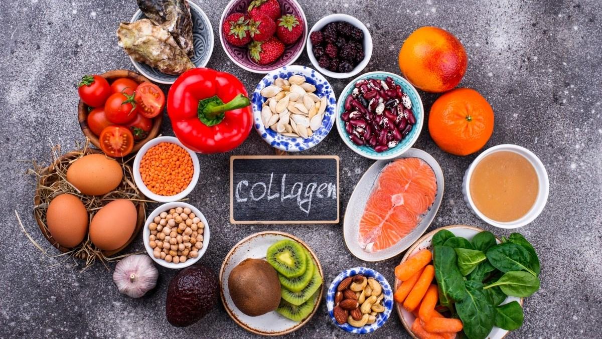 Những thực phẩm và thức uống chứa nhiều collagen