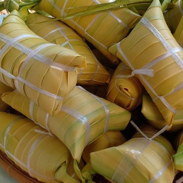Bánh lá dừa Bến Tre
