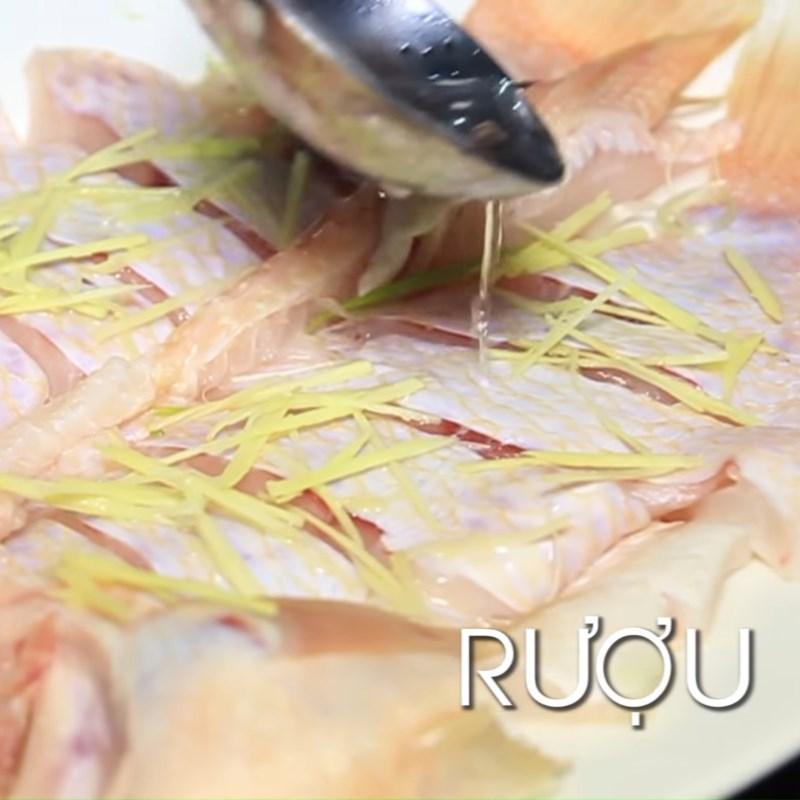 Bước 3 Hấp cá Cá diêu hồng hấp tàu xì
