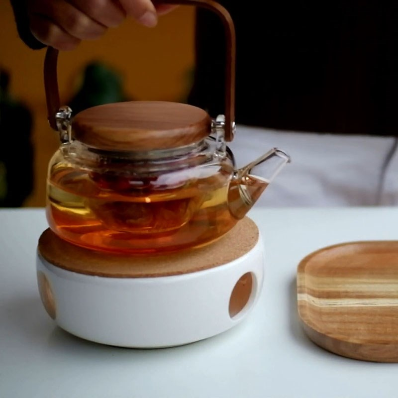 Bước 2 Pha trà Trà dưỡng nhan