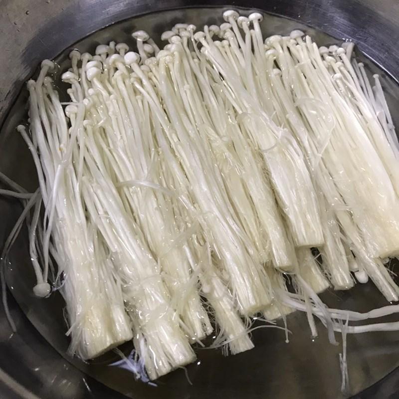 Bước 1 Sơ chế nguyên liệu Canh rong biển thịt bằm đậu hũ