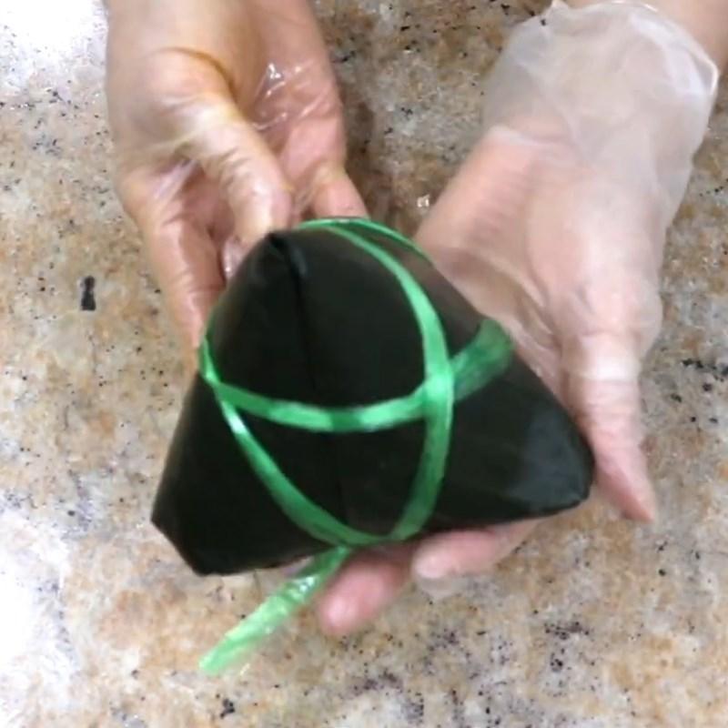 Bước 8 Gói bánh ú Bánh ú trứng muối nhân mặn thập cẩm