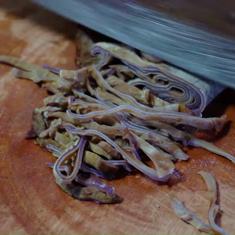 Bước 4 Sơ chế các nguyên liệu còn lại Cá diêu hồng hấp ngũ liễu