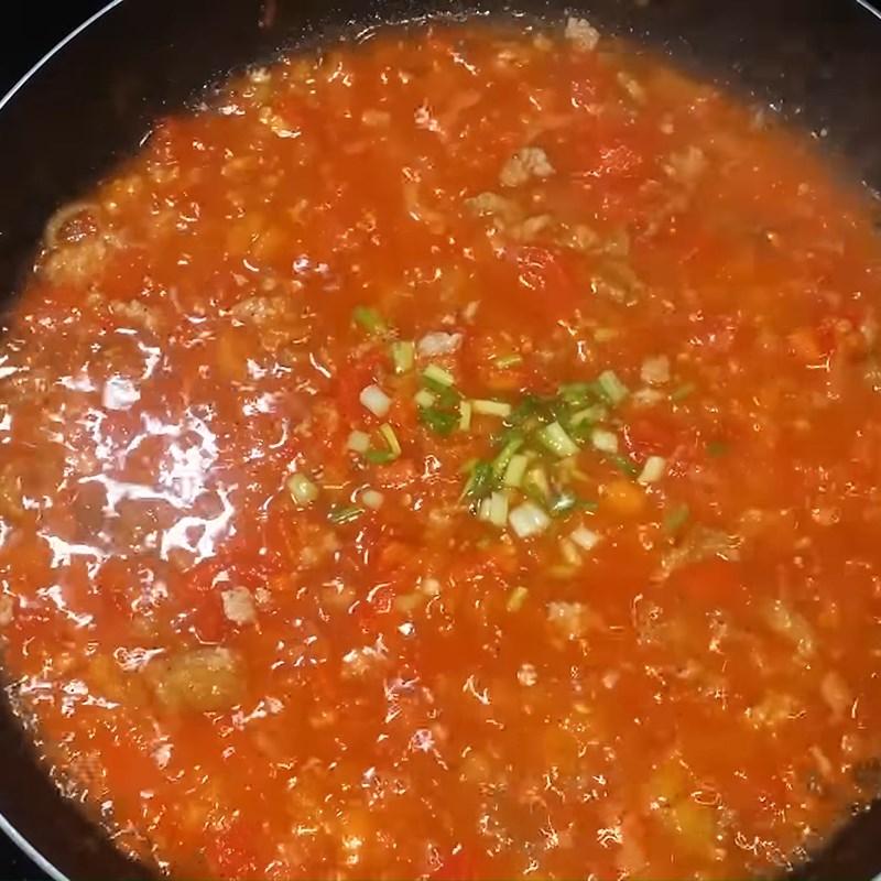 Bước 4 Hoàn thành Nước sốt cà chua