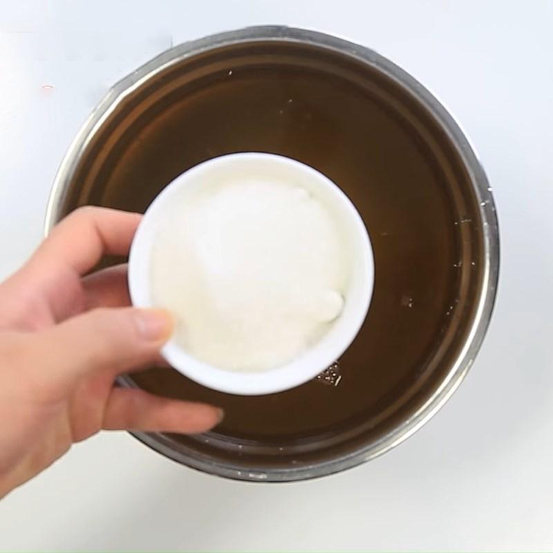 Bước 3 Làm nước ngâm Cải thảo muối chua