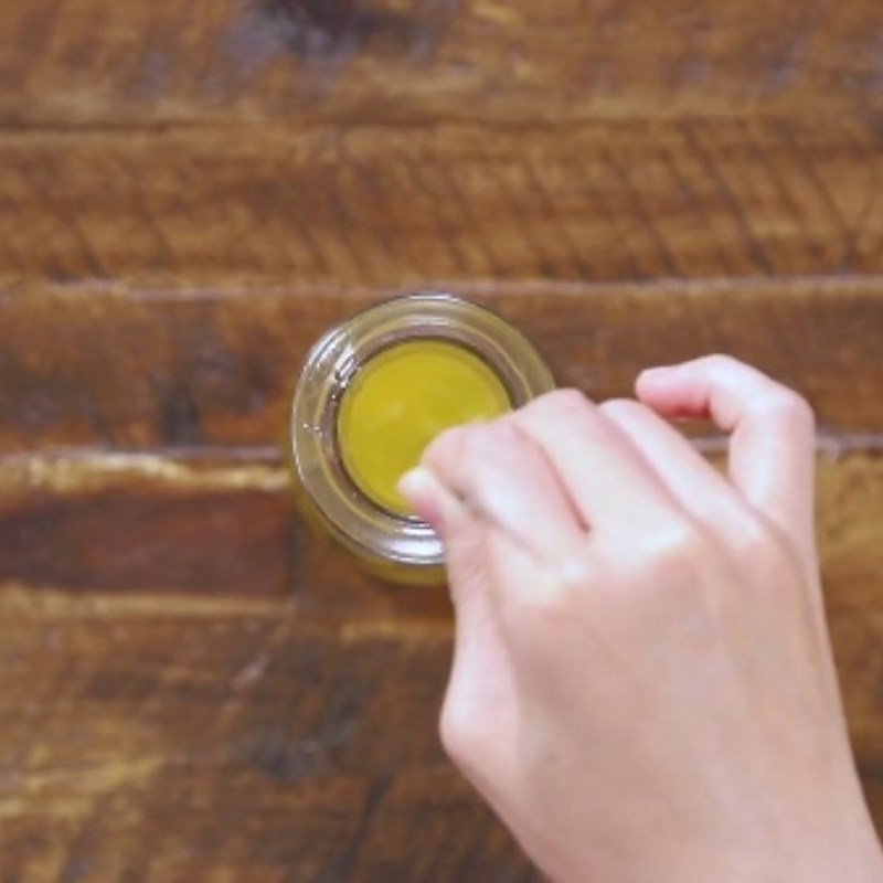 Bước 1 Làm syrup tắc Nước ép sơ ri và bưởi