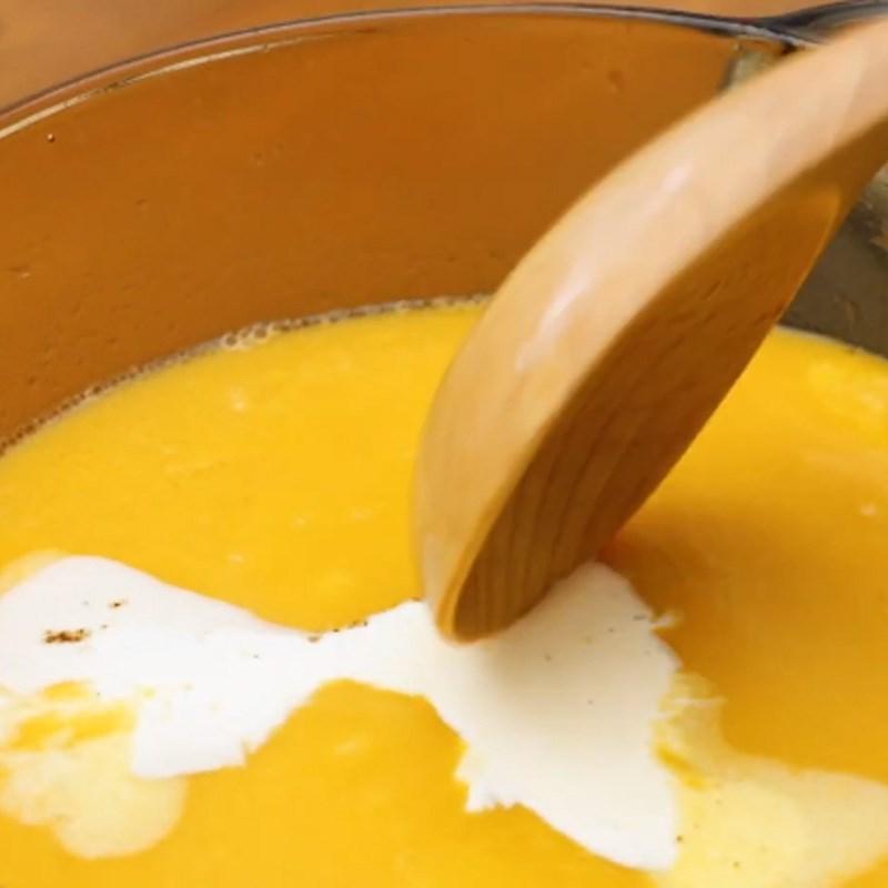 Bước 3 Nấu súp khoai lang Súp khoai lang rau củ