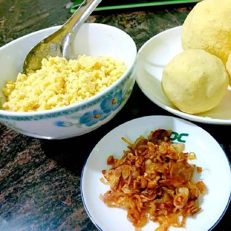 Bước 2 Nấu xôi bắp đậu xanh Xôi bắp (ngô) đậu xanh