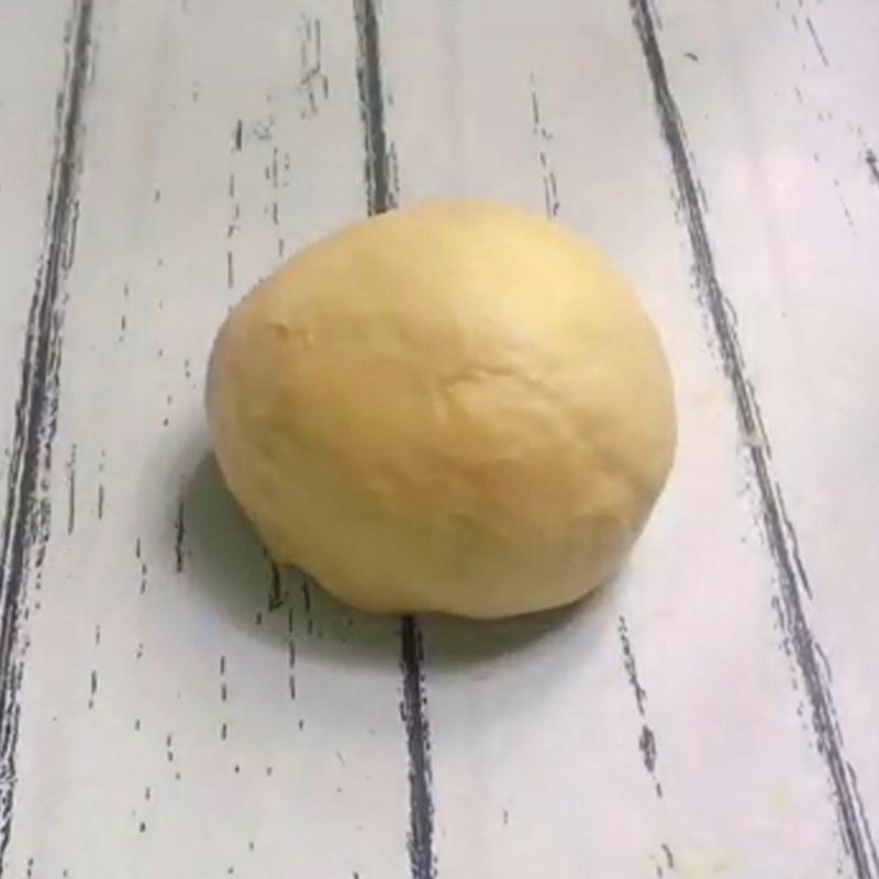 Bước 2 Nhồi và ủ bột lần 1 Bánh mì nhân socola chảy