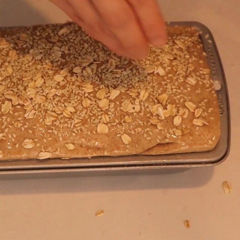 Cách làm bánh mì yến mạch nguyên cám giảm cân bổ dưỡng