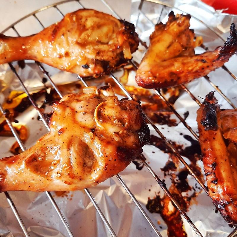Bước 4 Nướng thịt gà Gà nướng ngũ vị