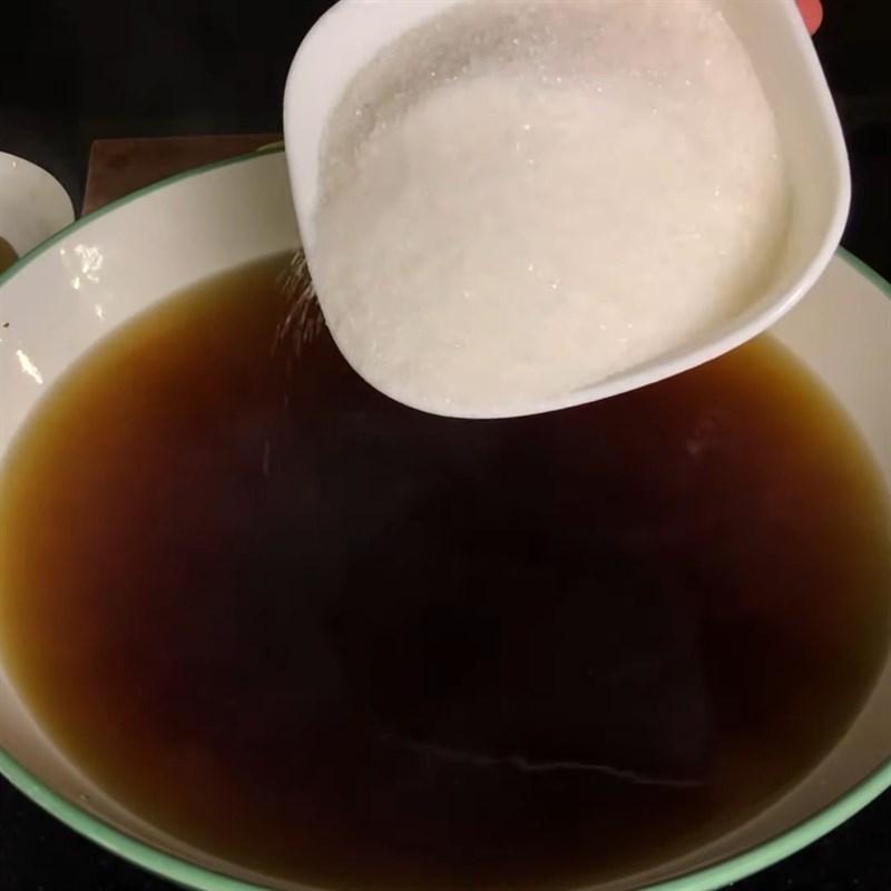 Bước 3 Pha hỗn hợp trà Trà chanh hoa đậu biếc