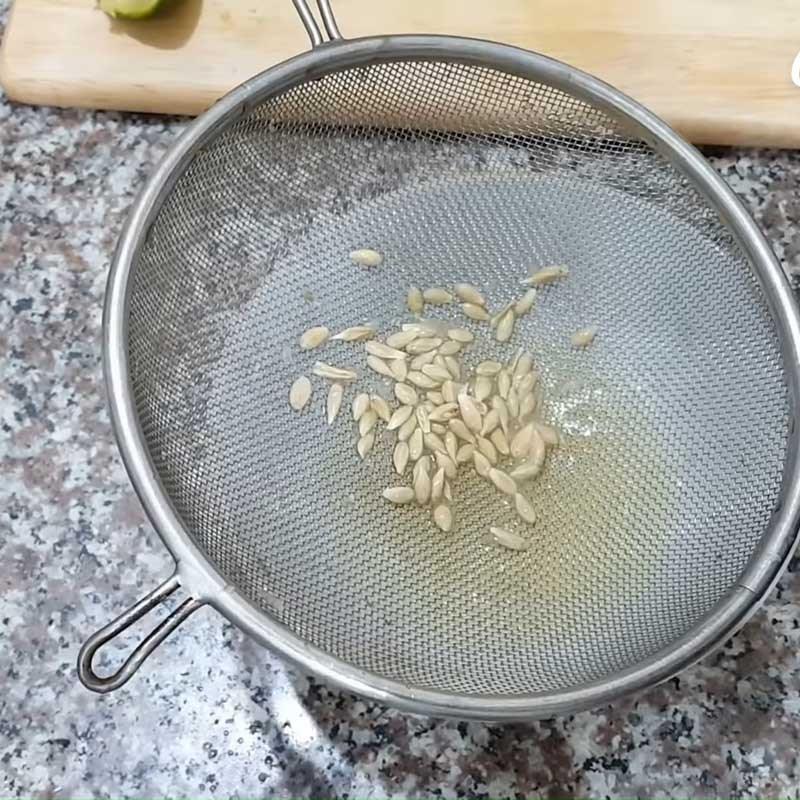 Bước 3 Pha trà chanh và hoàn thành Trà chanh hoa đậu biếc