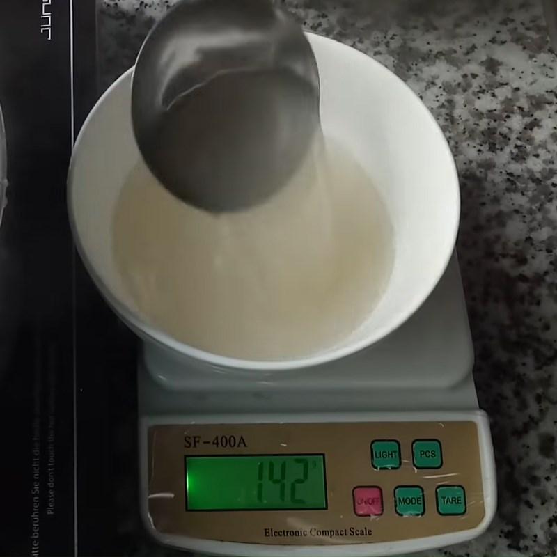 Bước 3 Làm rau câu lá dứa, cốt dừa, cà phê Rau câu lá dứa sữa dừa cà phê