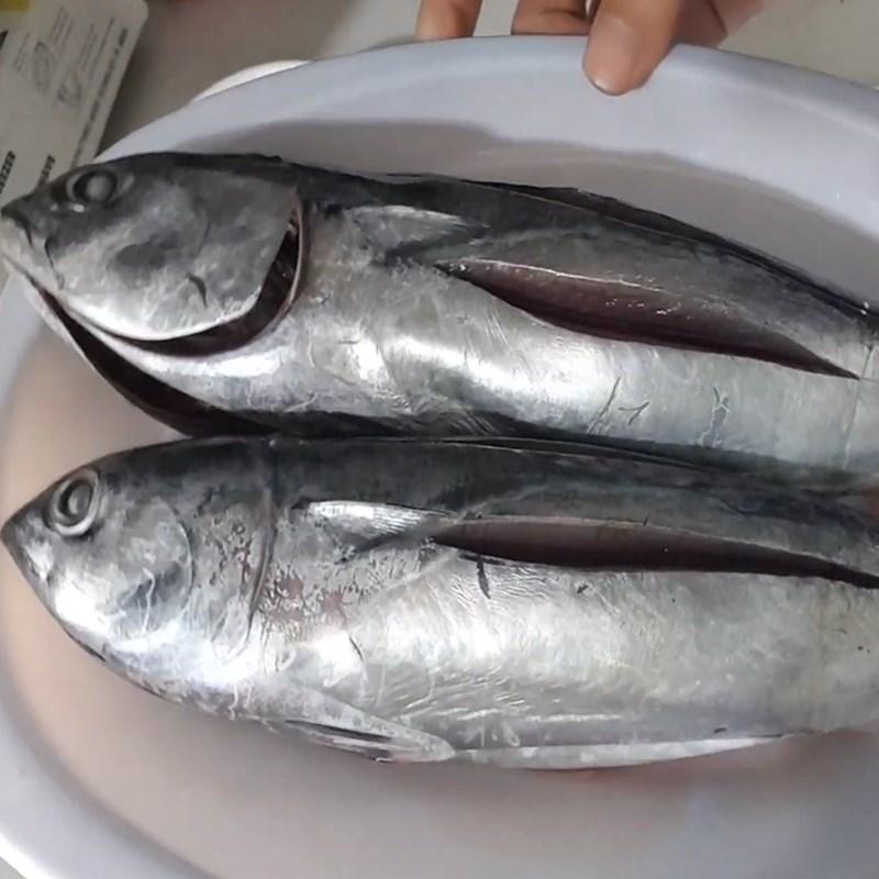 Bước 1 Sơ chế cá ồ Cá ồ nướng muối ớt