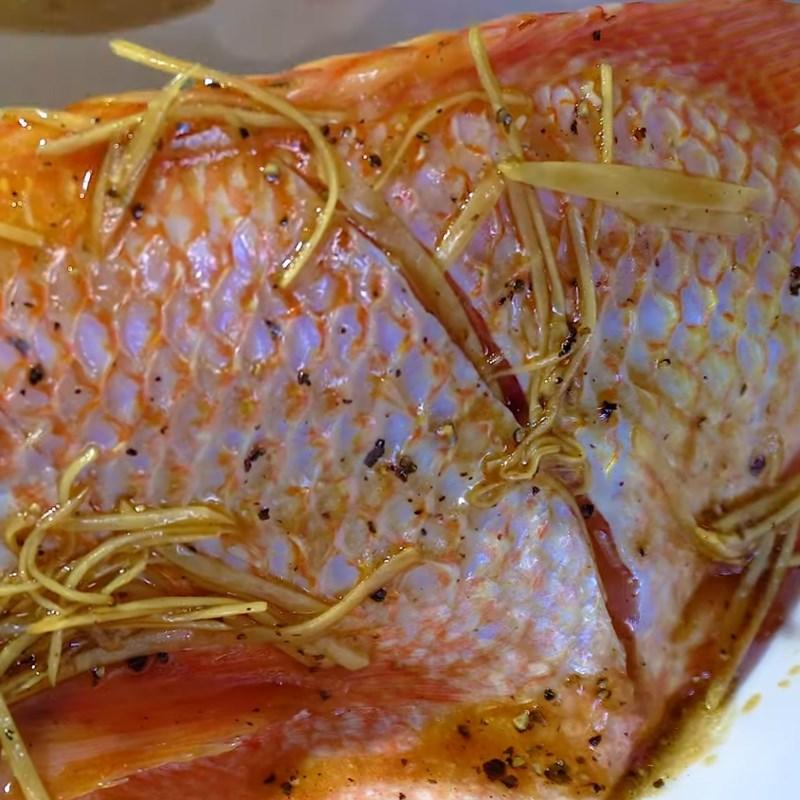 Bước 2 Sơ chế và ướp cá Cá diêu hồng hấp ngũ liễu