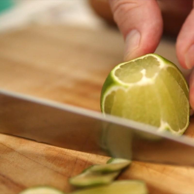 Bước 1 Sơ chế các nguyên liệu Nước ép súp lơ xanh