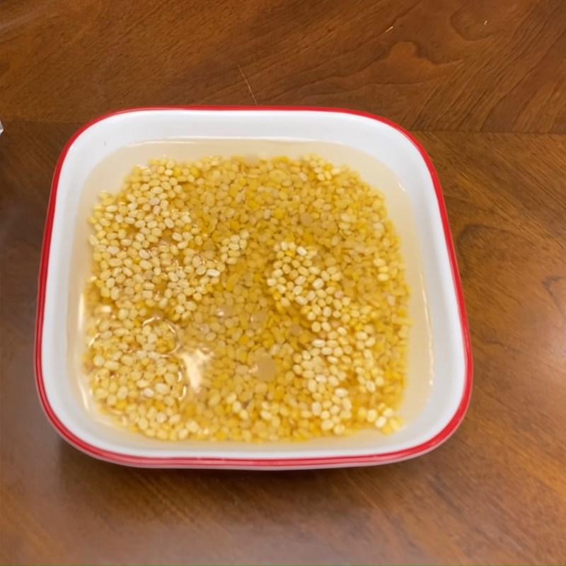 Bước 1 Sơ chế đậu xanh và khoai tây Bánh quy nhân đậu xanh
