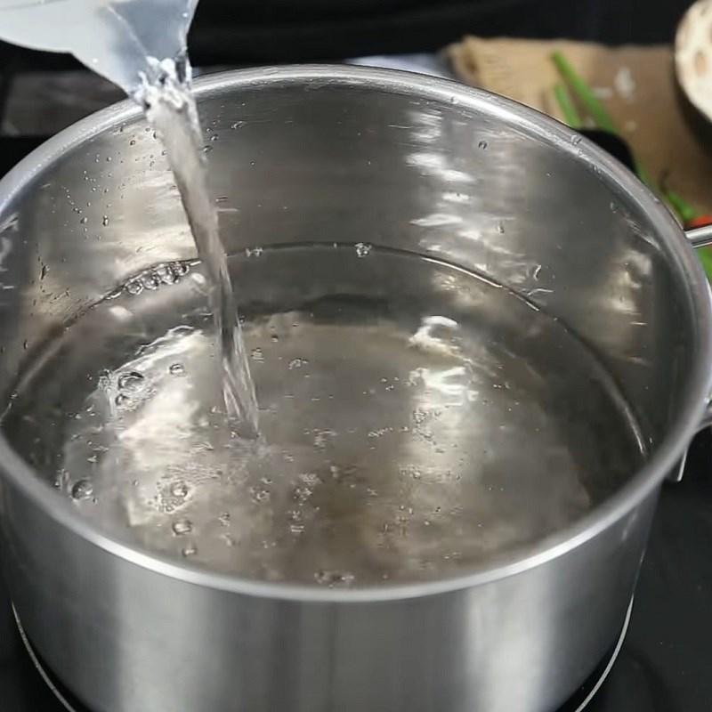 Bước 1 Sơ chế hến Hến xào cà ri