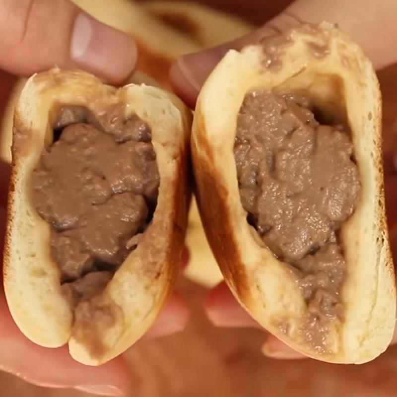 Bước 5 Thành phẩm Bánh mì nhân kem socola
