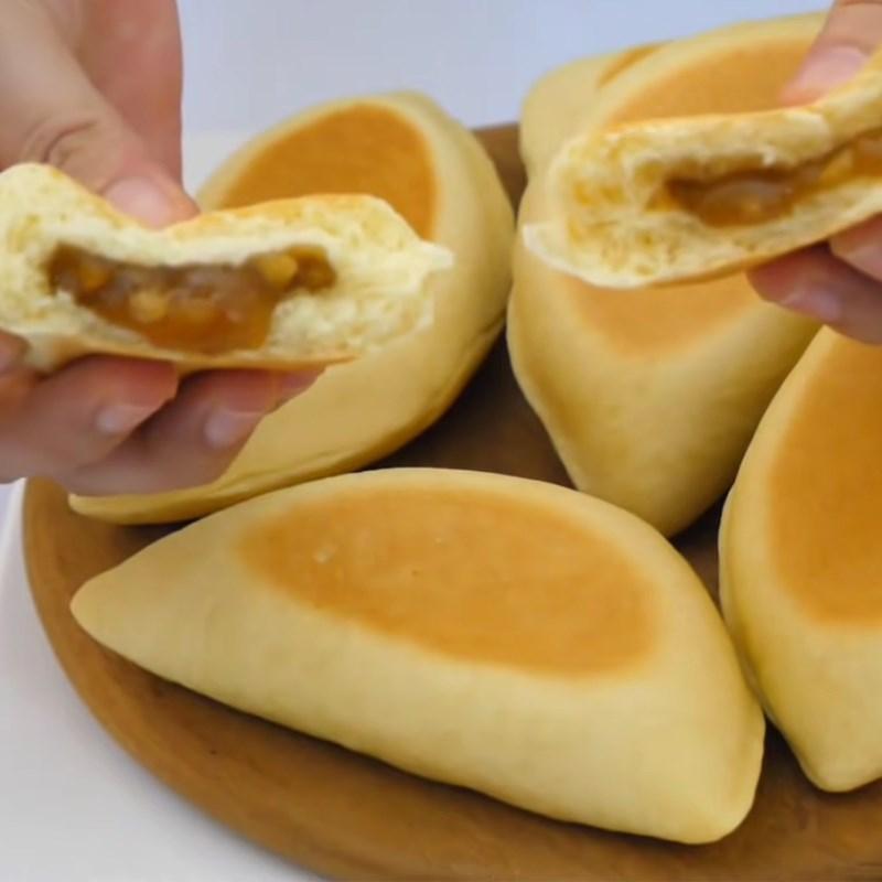 Bước 5 Thành phẩm Bánh mì nhân mật ong bằng chảo