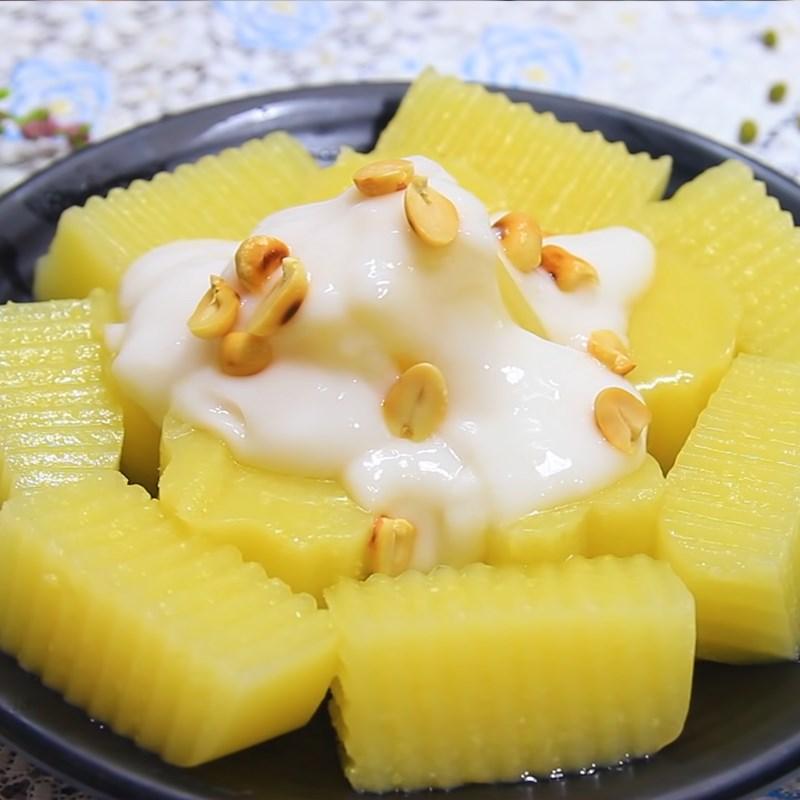 Bước 6 Thành phẩm Rau câu đậu xanh cốt dừa