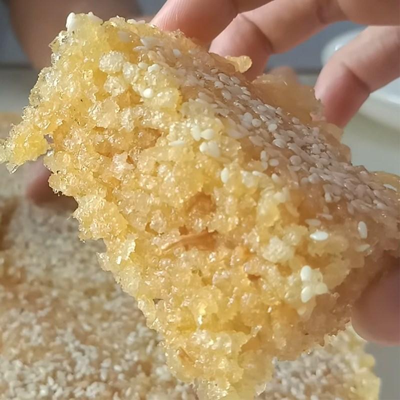 Bước 5 Thành phẩm Bánh cốm gạo từ bún giòn