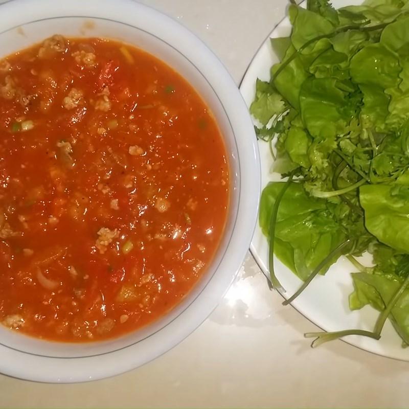 Bước 5 Thành phẩm Nước sốt cà chua