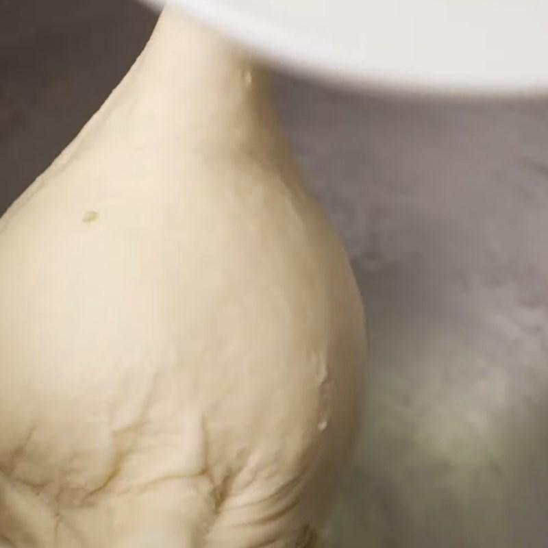 Bước 1 Trộn bột Bánh mì sandwich phô mai