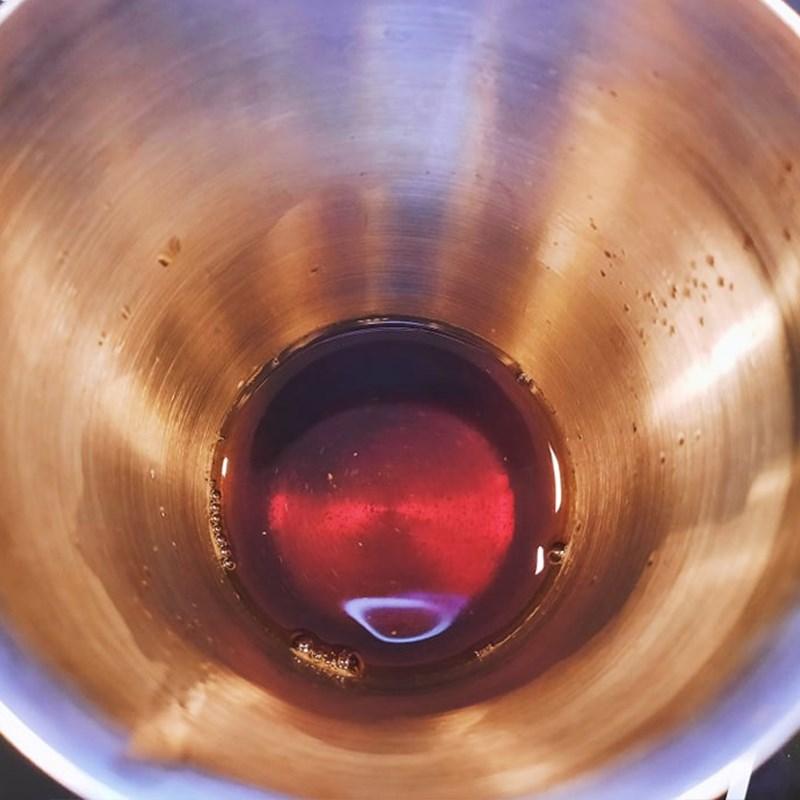 Bước 2 Ủ trà Trà sữa đào