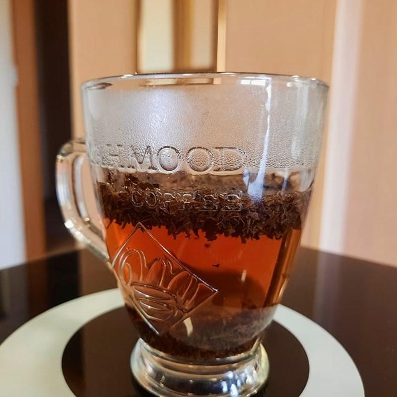 Bước 1 Ủ trà Trà đào (Công thức được chia sẻ từ người dùng)