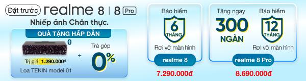Đặt trước Realme 8