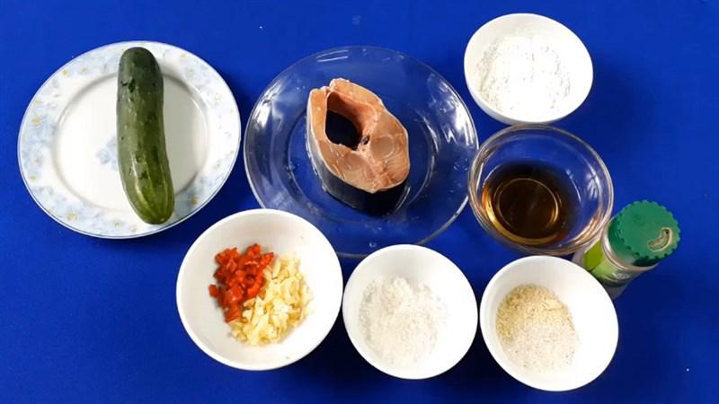 Nguyên liệu món ăn 3 cách làm cá chét (cá nhụ) kho