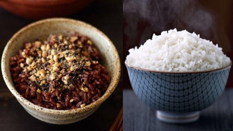 Nên chọn cơm gạo lứt hay cơm gạo trắng?
