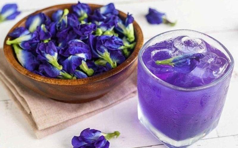 Cách sử dụng hoa đậu biếc tươi
