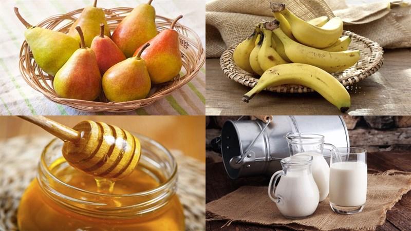 Nguyên liệu món ăn sinh tố lê