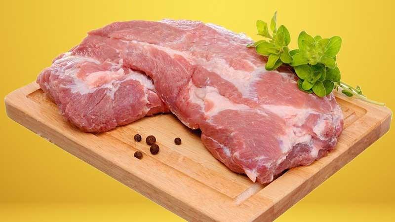 Thịt nạc dăm bao nhiêu 1kg?
