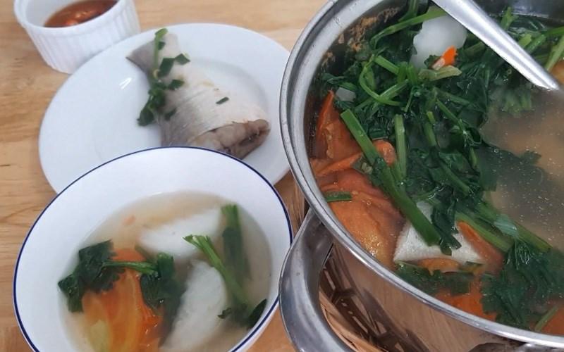 Cá chét nấu ngót