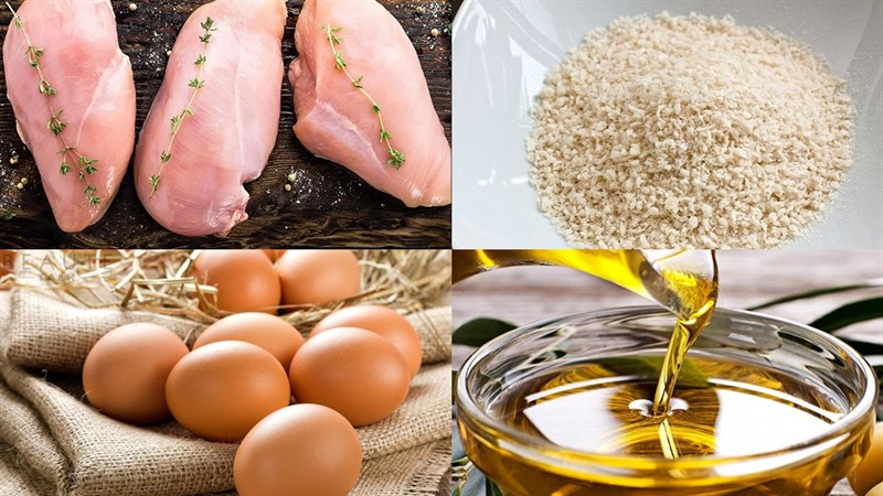 Nguyên liệu món ăn 5 món ngon cho bé ngày quốc tế thiếu nhi