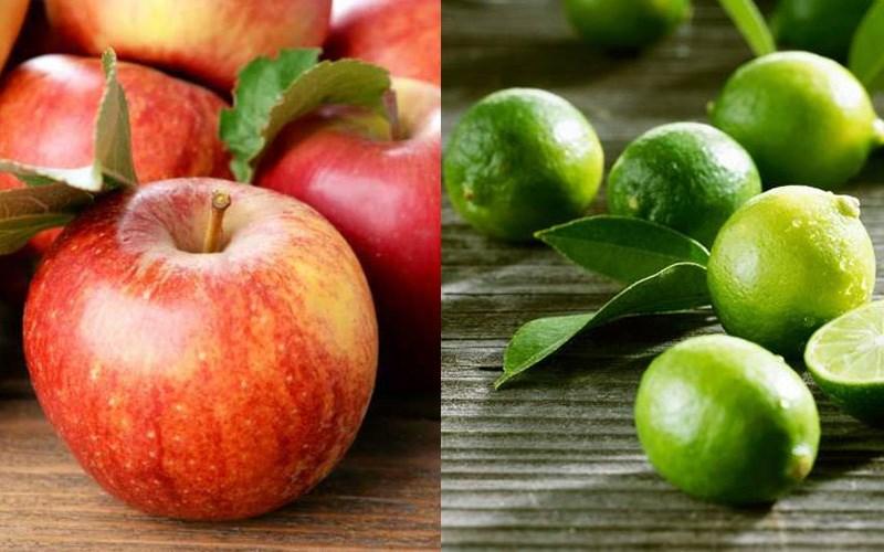 Nguyên liệu giúp táo không bị thâm đen