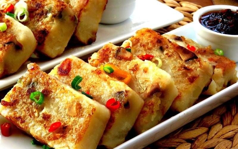 Bánh củ cải Bạc Liêu