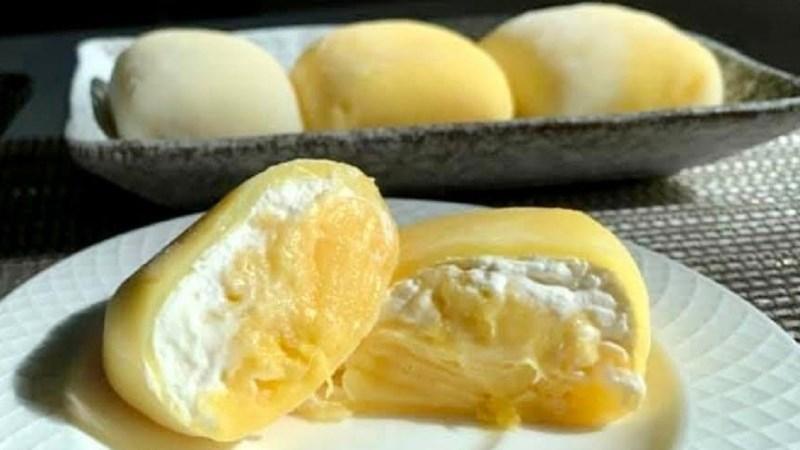 Bánh mochi sầu riêng