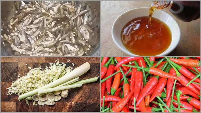 Nguyên liệu món ăn 2 cách kho cá trắng