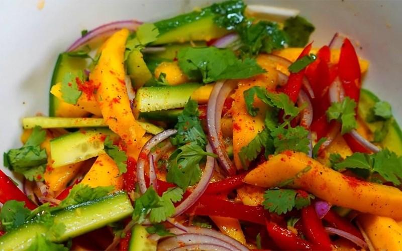 Salad xoài