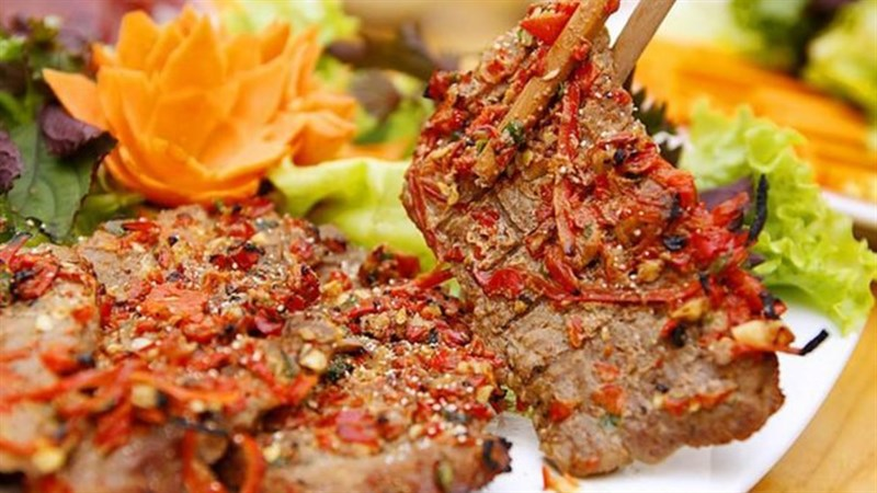 Thịt nai đặc sản Daklak