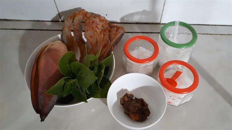 Nguyên liệu món ăn khô cá lóc nấu canh chua