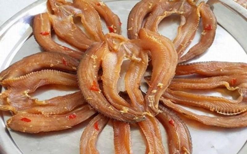 Khô cá lóc Bạc Liêu