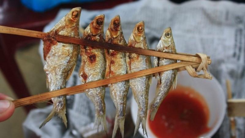 Cá nướng Ba Bể