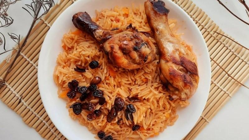 Cơm gà Kabsa Ả Rập